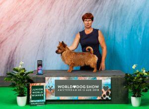 WORLD DOG SHOW Amsterdam 2018, JUNIOR WORLD WINNER'18, Pentu